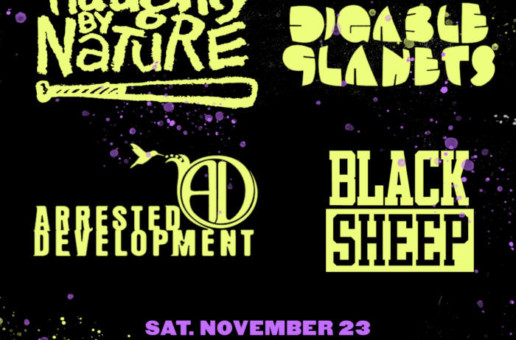 Naughty By Nature, Digable Planets, Arrested Development, Black Sheep LIVE at Franklin Music Hall in Philly on Nov 23rd!