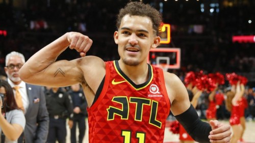 EHr_QgfWwAAt6WL-500x281 Do You Believe in Magic: Trigga Trae Young's 39 Points Leads The Hawks To (2-0) Defeating Orlando (103-99)