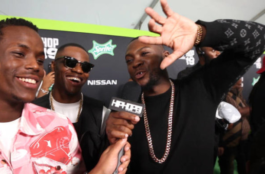 Micheal Ward & Rapman Talk 'Topboy', 'Blue Story' & More at the 2019 BET Hip-Hop Awards (Video)