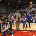 Kevin Hart Slam Dunk On a Fisher Price Court (Video)