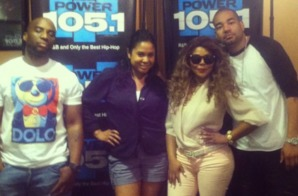 Lil Kim SNAPS on The Breakfast Club Interview When Talking About Nicki Minaj Beef & More (Video)