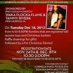 Waka Flocka Flame (@WakaFlockaBSM) X Tammy Rivera (@MzFlame_86) are Giving Back to the Community!!!