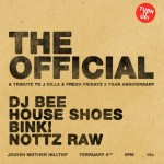 @RealFreshRadio #FreshFriday 2 Year w/  DJ Bee, House Shoes, Bink Dog, & Nottz Raw