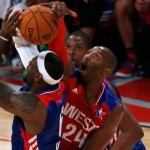 Kobe Bryant Blocks Lebron Twice In One On One Matchup During The All-Star Game (Video)