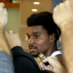 Philadelphia 76ers Center Andrew Bynum's Season Is Over