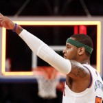 New York Knicks Forward Carmelo Anthony Wins NBA Scoring Title