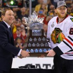 The Chicago Blackhawks Win The NHL 2013 Stanley Cup
