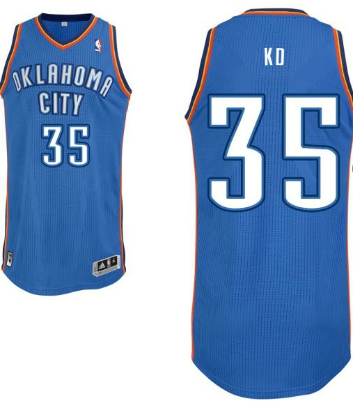 Kevin-Durant-Nickname-Jersey1 NBA New Look: We May See Nicknames On NBA Jerseys This Season (Photos)