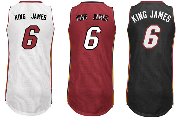 Lebron-James-Nickname-Jersey NBA New Look: We May See Nicknames On NBA Jerseys This Season (Photos)