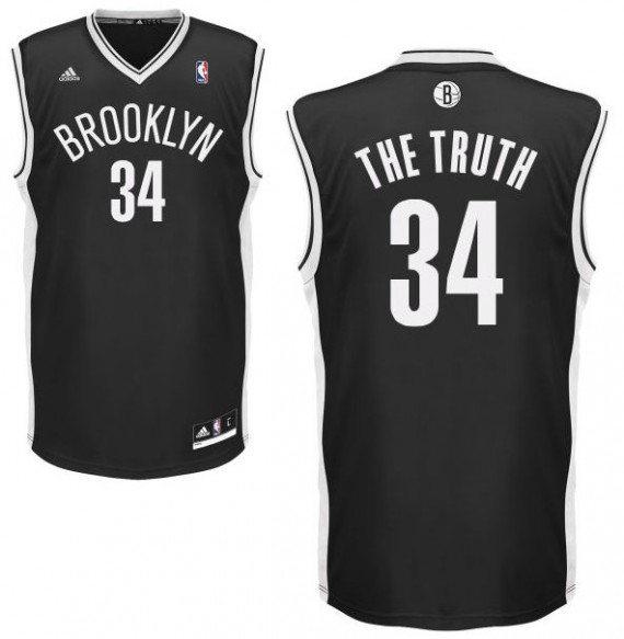 Paul-Pierce-Nickname-Jersey NBA New Look: We May See Nicknames On NBA Jerseys This Season (Photos)