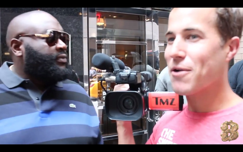 Ross-1024x640 MMZ Takeover: Rick Ross Has A Few Words For A TMZ Cameraman (Video)