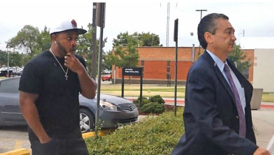 mmHHS19873 Mack Maine Surrenders To Police In Oklahoma County (Video)
