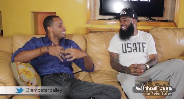 stalleyONhhs1987 Stalley Makes A Guest Appearance On NiteCap W/ Peter Bailey (Video)
