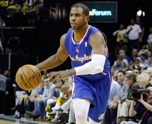 chrispaul_063013_siwire Double Take: Chris Paul Records His 12th Straight Double-Double Passing Magic Johnson (Video)