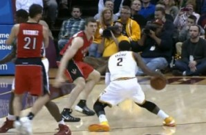 Uncle Drew Doin' Work: Kyrie Irving Shakes and Bakes the Toronto Raptors (Video)