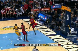 Jurassic Dunk: Raptors Guard Terrence Ross Takes Off on Kenneth Faried (Video)