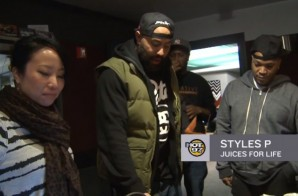 Styles P Juices with The Hot 97 Morning Show (Video)