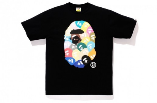 BAPE Celebrates 21st Anniversary With A Special Collection Of 21 Branded Tee's