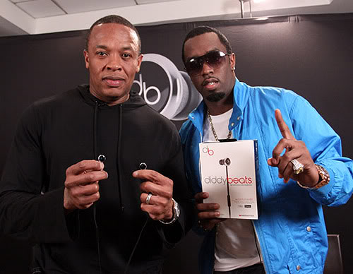 dr-dre-p-diddy Diddy Leads Forbes List of 2014 Wealthiest Hip Hop Artists