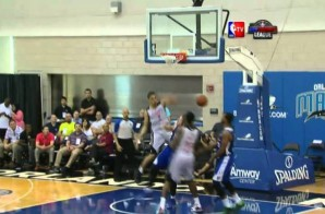 Nick Johnson Posterizes Tim Ohlbrecht in NBA Summer League Play (Video)