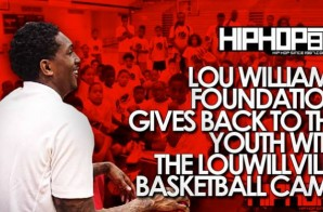 Lou Williams Foundation Gives Back to The Youth with the LouWillVille Basketball Camp (Vlog)