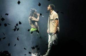 Watch YMCMB's Own Drake & Lil Wayne Kick Off Their New Tour In Buffalo, NY!