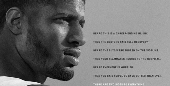 pg2 Nike Believes Paul George's Injury Is A Small Setback For A Huge Comeback