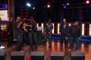 Wu-Tang Talks History & Performs Live On The Daily Show with Jon Stewart (Video)