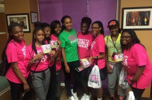 "Keri Hilson & The OMG Girlz Encouraged 200 Girls To Put Fitness First with ""Pretty Girls Sweat"""
