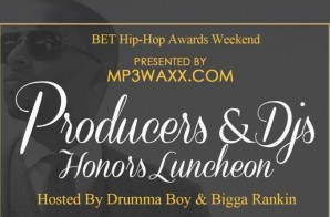BET Hip-Hop Awards Weekend MP3Waxx.com Producers & DJs Honors Luncheon (Hosted by Drumma Boy & Bigga Rankin)