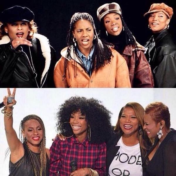 Brandy, MC Lyte, Yo-Yo & Queen Latifah – I Wanna Be Down (Live At 2014 BET Hip Hop Awards) (Video)   Home of Hip Hop Videos & Rap Music, News, Video, Mixtapes