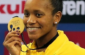 Jamaican Swimmer Alia Atkinson Becomes The First Black Woman To Win A World Swimming Title