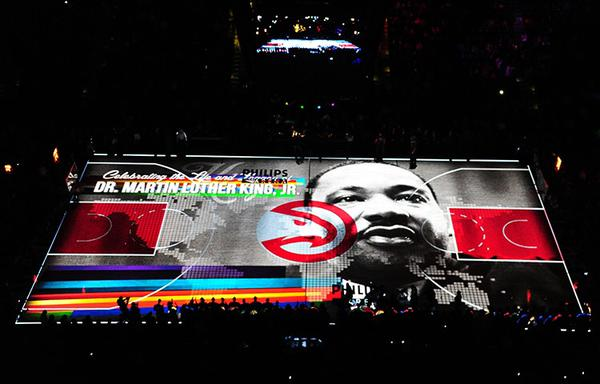 B7wdxM1IIAAYVXE The Atlanta Hawks Pay Homage To Martin Luther King Jr. With A Unique Gospel Introduction (Video)