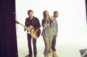 Rihanna – FourFiveSeconds Ft. Kanye West & Paul McCartney (Behind The Scenes) (Video)