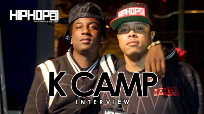 "K-Camp K Camp Breaks Down His Project ""One Way"", His Upcoming Single With Chris Brown & Announces His New Album With HHS1987 (Video)"