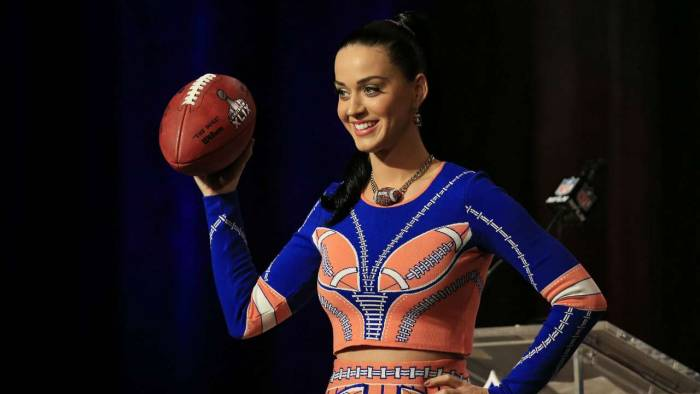"katy-perry_1akmqd9f5uisp1seuqc8n8er4s Katy Perry Adds Some Humor To The Super Bowl Press Conference : ""I'm Just Here So I Don't Get Fined"" (Video)"