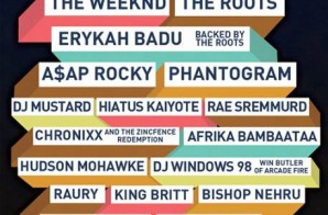 Roots Picnic 2015 Lineup Announced