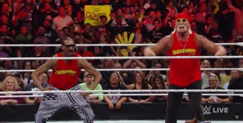 snoop-500x254 Snoop Dogg Brings Snoop Mania To WWE Monday Night Raw! (Video)