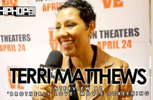 Terri Matthews At 'Brotherly Love' Movie Screening in Philadelphia (3/31/15) (Video)