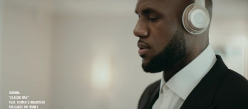 "lebron-500x220 LeBron James Is A ""Classic Man"" In His New Beats By Dre Commercial (Video)"