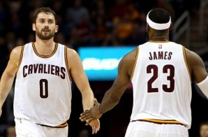 Staying With The King: Kevin Love Signs A 5 Year/ $110 Million Dollar With The Cleveland Cavs
