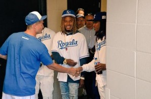 Fetty Wap Visits The Kansas City Royals After They Shout Him Out (Video)