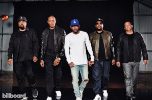 Kendrick Lamar Interviews N.W.A. For Billboard!