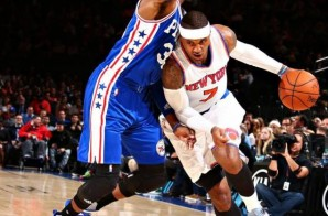He's Back: Knicks All-Star Carmelo Anthony Shakes, Bakes & Slams (Video)