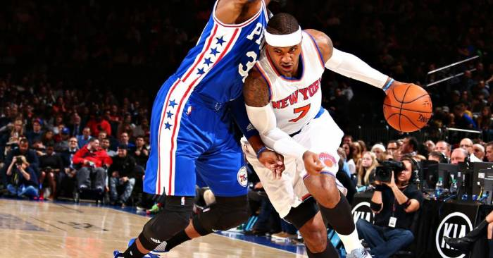 proxy1 He's Back: Knicks All-Star Carmelo Anthony Shakes, Bakes & Slams (Video)
