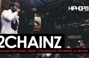 2 Chainz Previews New Music From His Upcoming 'ColleGrove' Collaboration Project With Lil Wayne (Video)