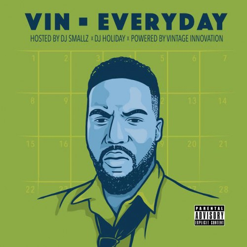 cover Vin - Everyday (Mixtape)
