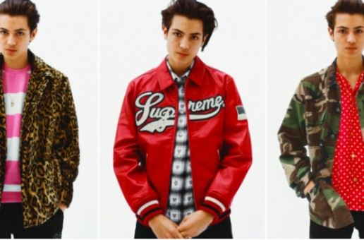 Supreme Releases Their 2016 Spring/Summer Lookbook!