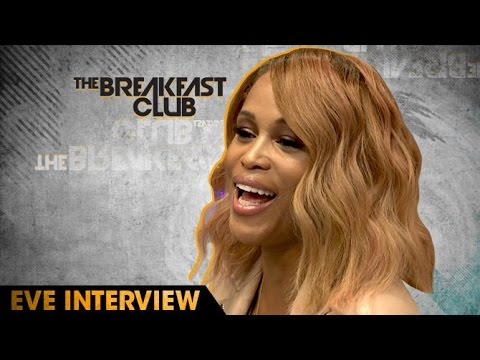 eve Eve Talks Barbershop 3, DMX Linking Her With Ruff Ryders And More W/ The Breakfast Club (Video)
