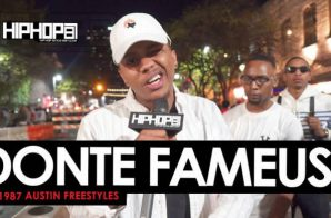 HHS1987 Austin Freestyles 2016: Donte Fameus (Video)